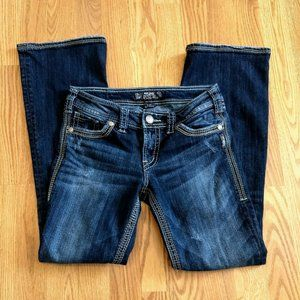 Silver Jeans Womens Suki Surplus Flap Pocket 27/32